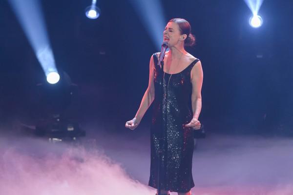 A cantora Lisa Stansfield em uma foto de um show em janeiro de 2018 (Foto: Getty Images)