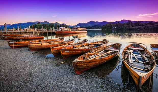 Twilight on Derwentwater, The Lake District, Cumbria, England (Foto: Getty Images/iStockphoto)