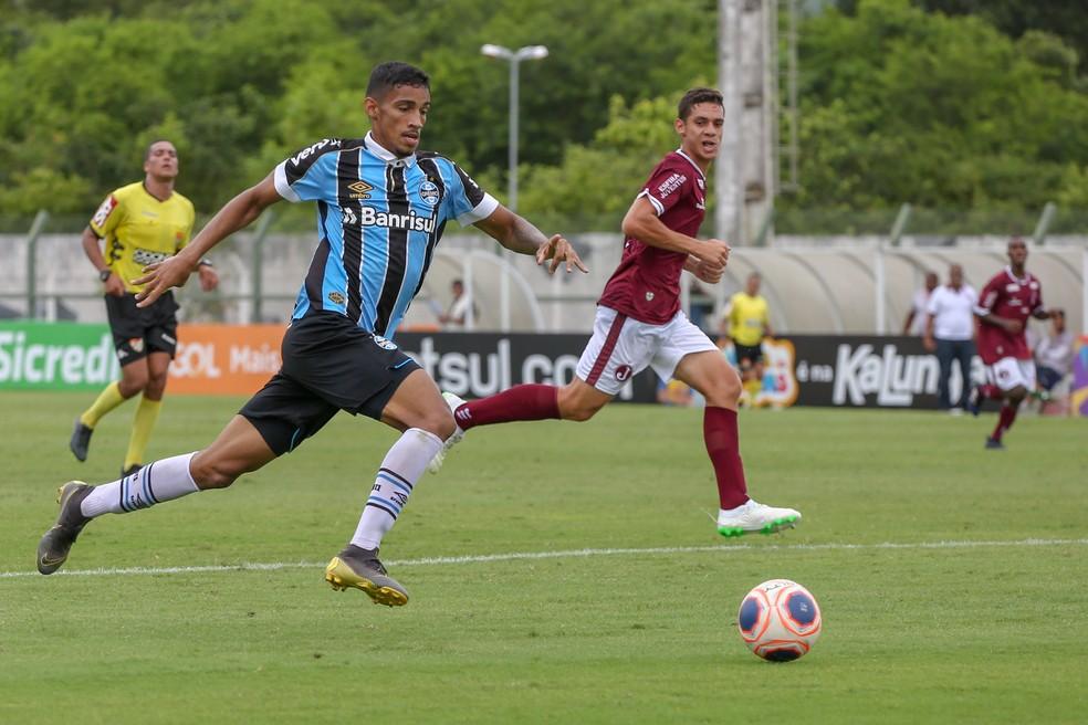 Fabrício, atacante Grêmio  — Foto: Guilherme Rodrigues/GR Press