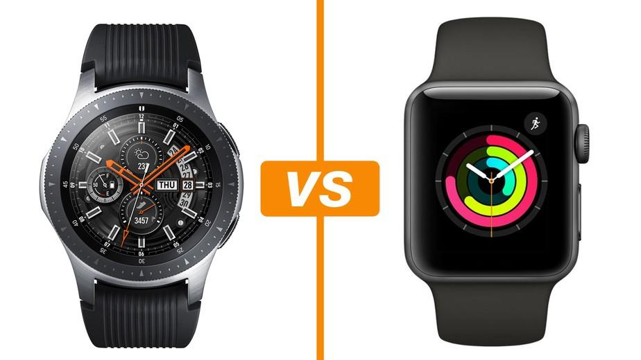 1f5a9839d2c Galaxy Watch vs Apple Watch 3  conheça relógios inteligentes ...