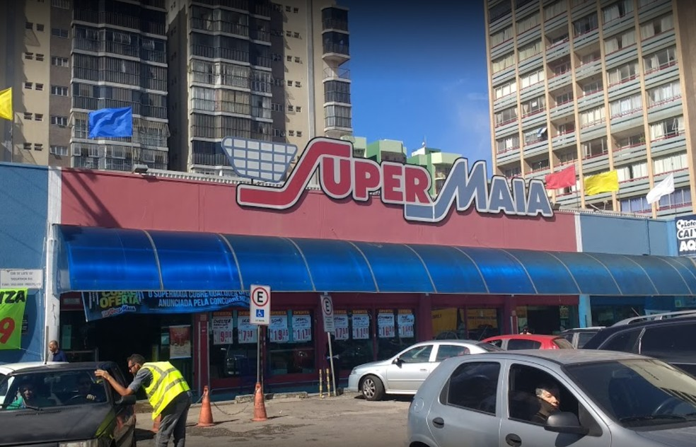 Rede de supermercados SuperMaia tem 12 lojas em Brasília (Foto: Google/Reprodução)