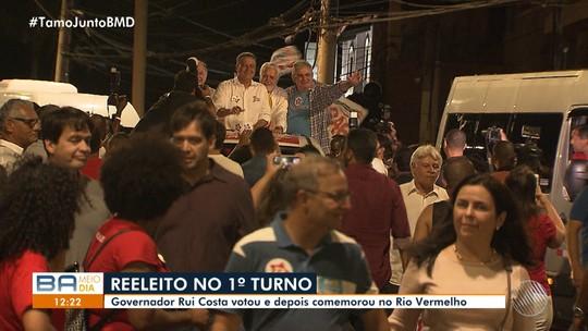 Rui Costa, do PT, é reeleito governador da Bahia
