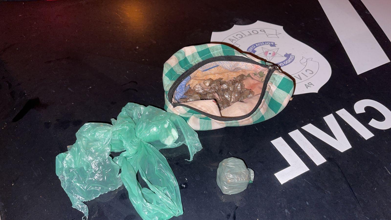 Operação 'Novo Horizonte' apreende drogas que estavam escondidas dentro de fossa em Santarém