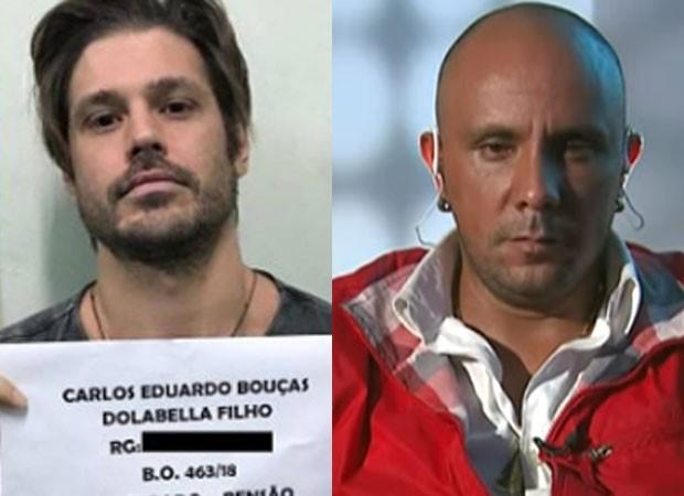 Dado Dolabella dividiu cela com Tio Chico (Foto: Reprodução)