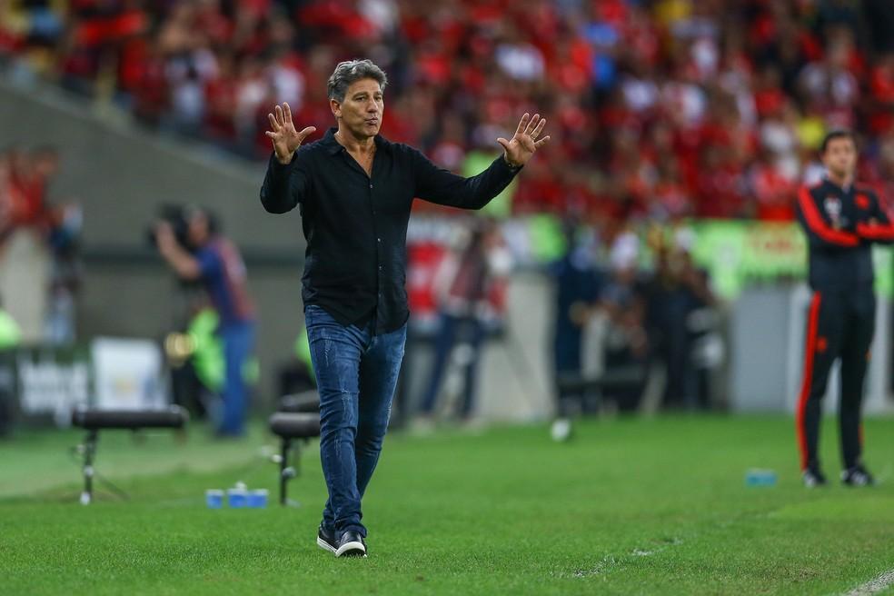 Renato Gaúcho, técnico do Grêmio (Foto: Lucas Uebel / Grêmio, DVG)
