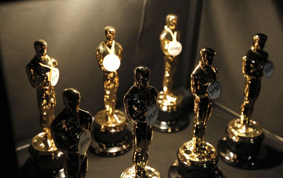 -  Estatuetas do Oscar  Foto: AP