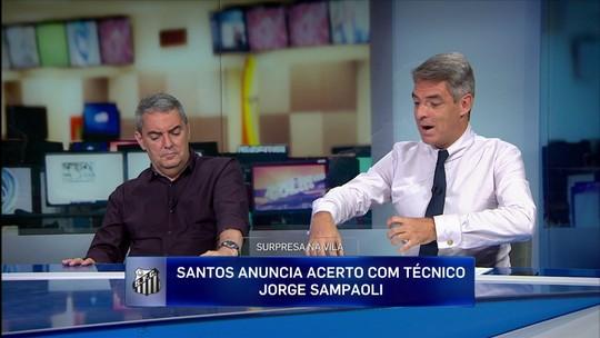 """Tim Vickery vê ressalvas com Sampaoli no Santos, mas diz: """"Se der certo, vai ser espetacular"""""""