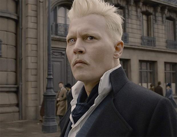 Johnny Depp responde as críticas pelo seu papel em Animais Fantásticos (Foto: Divulgação)