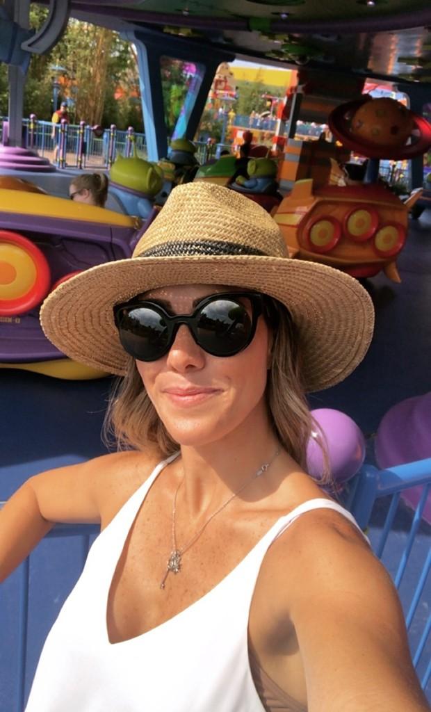 Fernanda Pontes na Disney (Foto: Reprodução/Instagram)