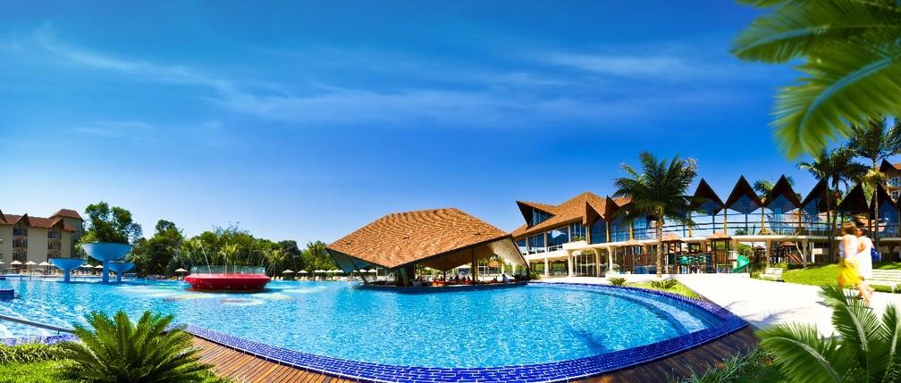 O Recanto Cataratas Thermas Resort & Convention reúne opções de lazer e para a realização de grandes eventos (Foto: Divulgação)