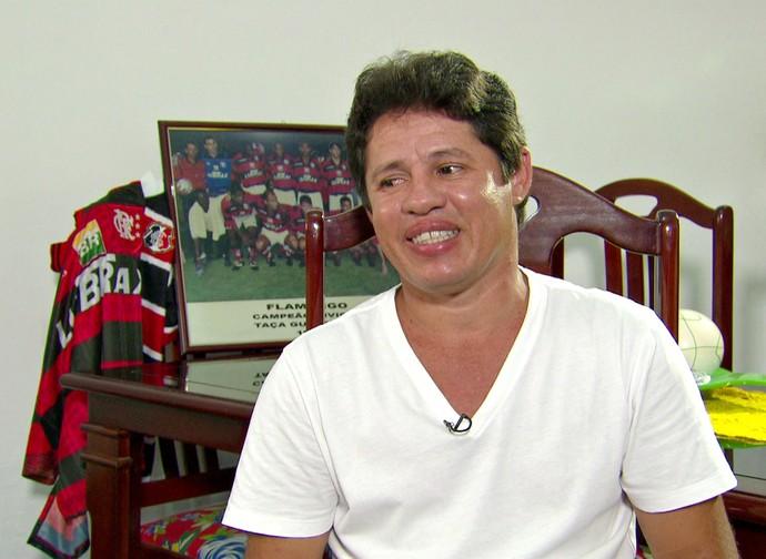 Iranildo Flamengo Santa Cruz (Foto: Reprodução Globo Esporte)