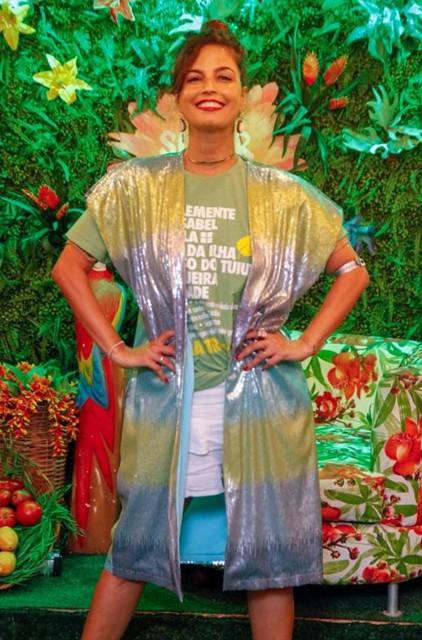 Emanuelle Araújo (Foto: Divulgação/Folia Tropical)