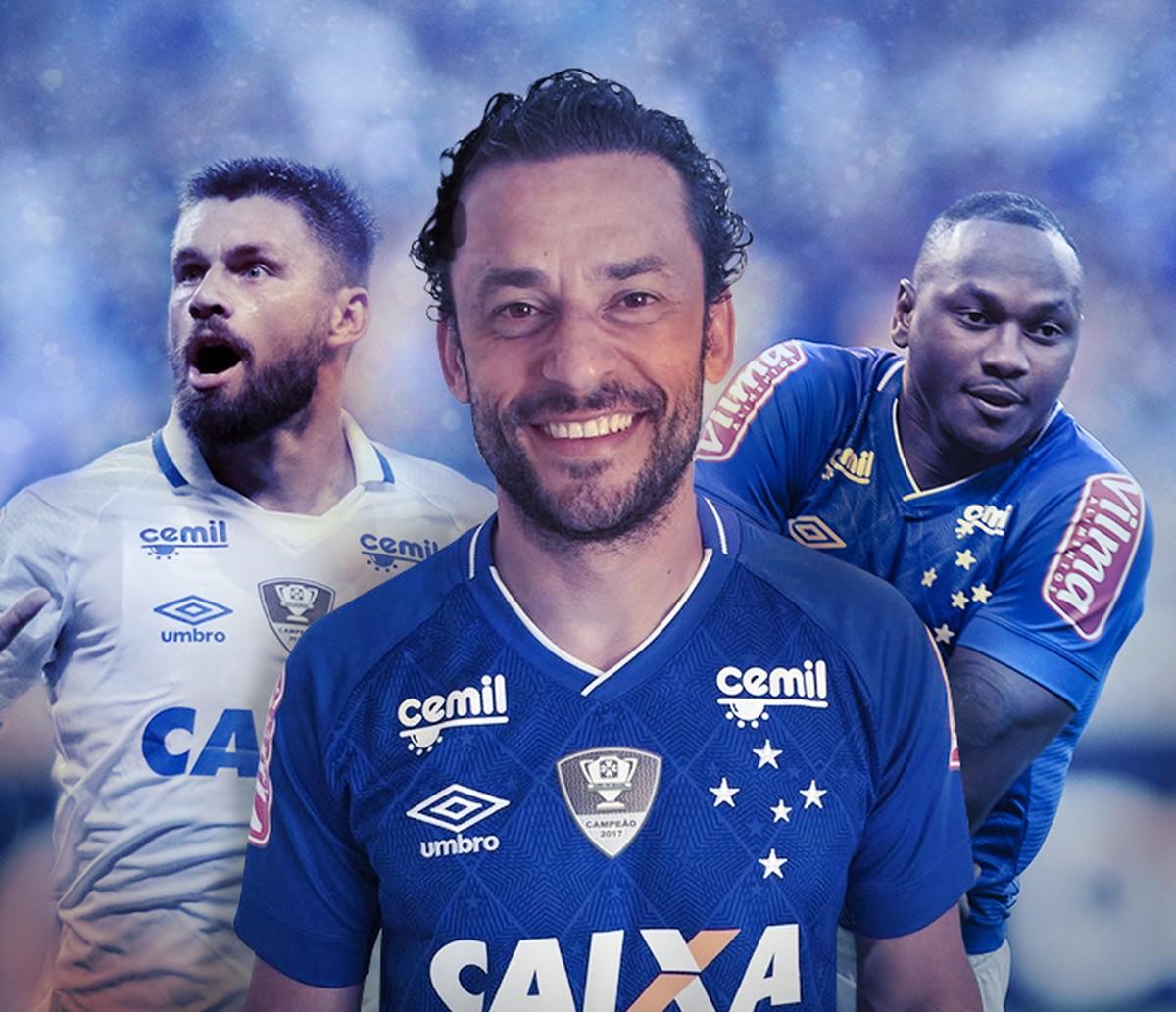 c9d22f89ab Garçom e com velho faro de gol  Fred volta ao Cruzeiro para ser solução no  ataque