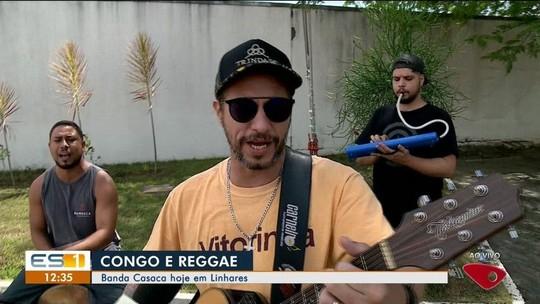 Banda Casaca se apresenta em Linhares, ES