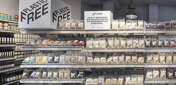 Rede holandesa de supermercados Ekoplaza disponibiliza mais de 1300 produtos totalmente livre de plástico, seja em sua composição ou em sua embalagem (Foto: Ekoplaza/Reprodução)