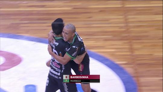 Em jogo dramático, Corinthians para no Marreco e cai nas quartas de final da LNF