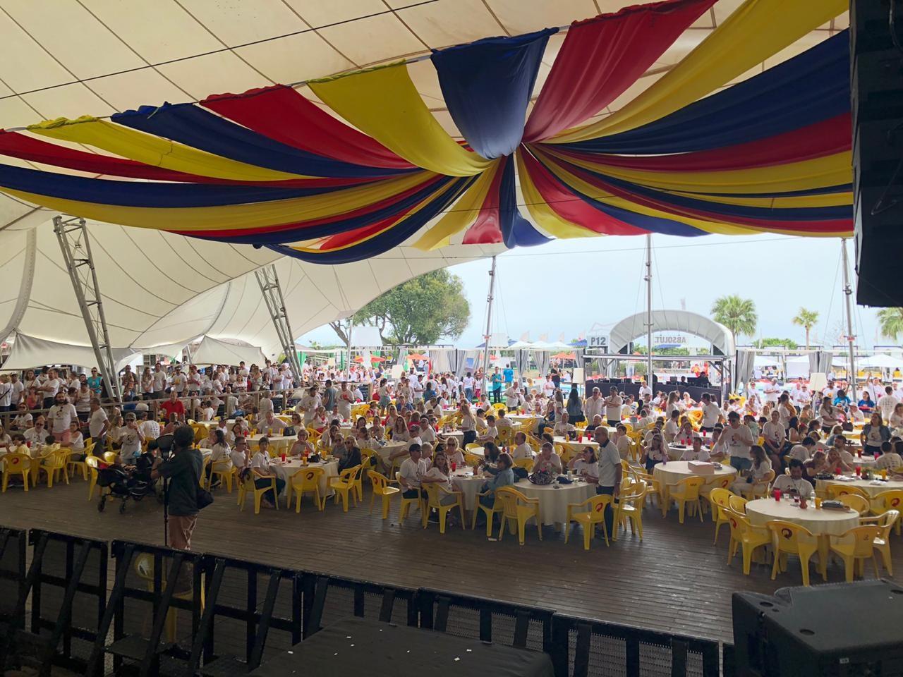 Mais de 1,3 mil pessoas participam da Benefest, em Florianópolis - Notícias - Plantão Diário