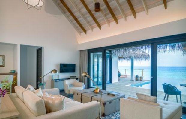 Resort que Juliana Paes está hospedada (Foto: Reprodução)