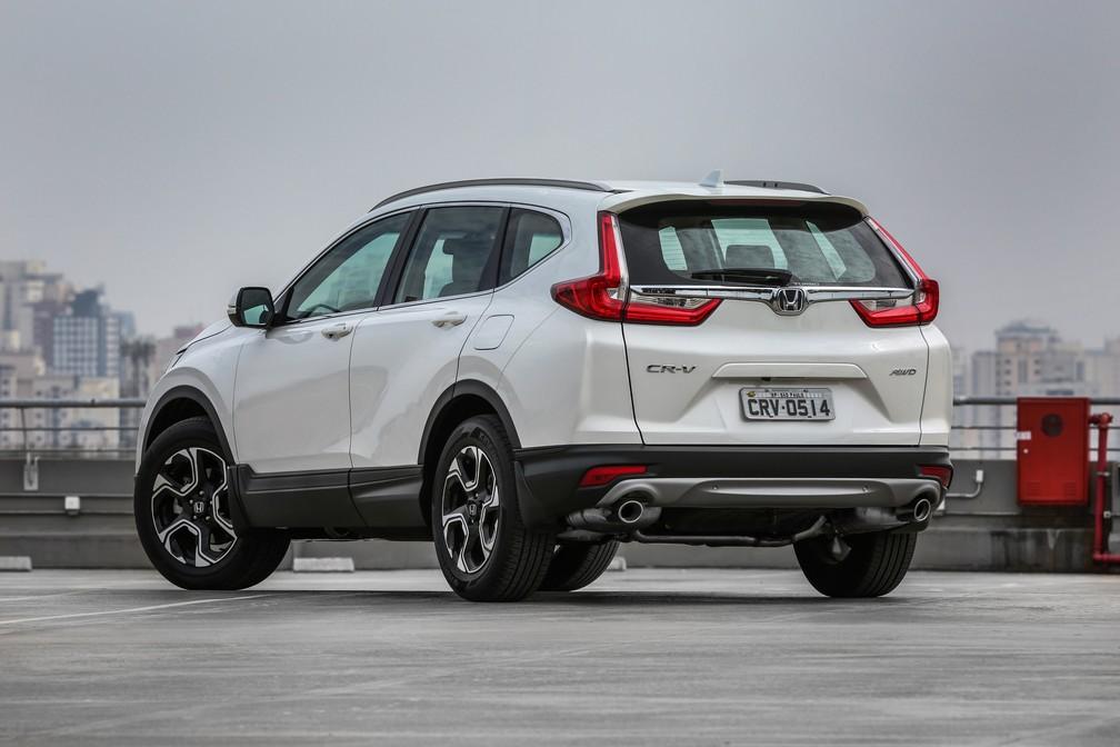 Honda CR-V 2018: primeiras impressões | Auto Esporte | G1
