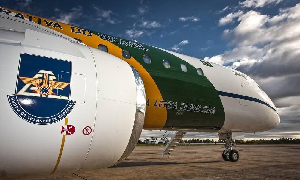 Um dos aviões da Embraer que transportam autoridades e ajudam em comitivas â?? Foto: AGÃ?NCIA FAB/SGT JOHNSON