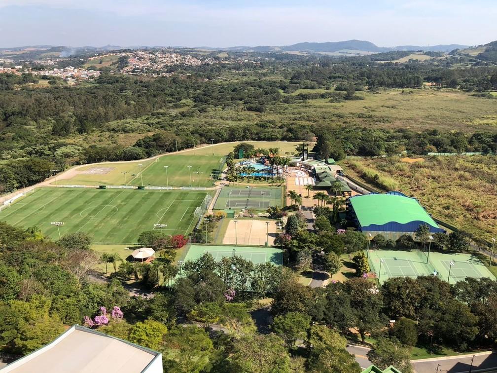 Hotel em Atibaia irá receber o Grêmio a partir desta quinta — Foto: Diego Guichard / GloboEsporte.com