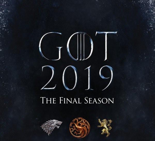 O teaser divulgado pelos produtores de Game of Thrones para a última temporada da série (Foto: Twitter)