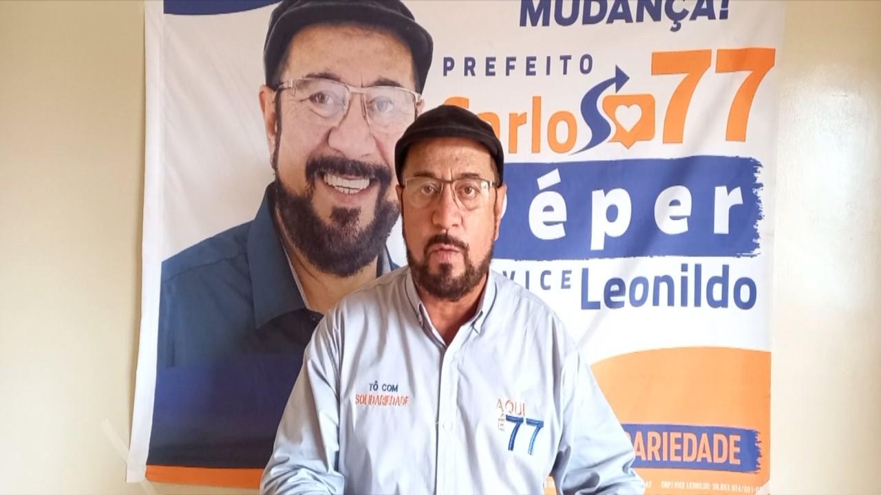 Candidato a prefeito Carlos Péper fala sobre propostas para educação em Sorocaba