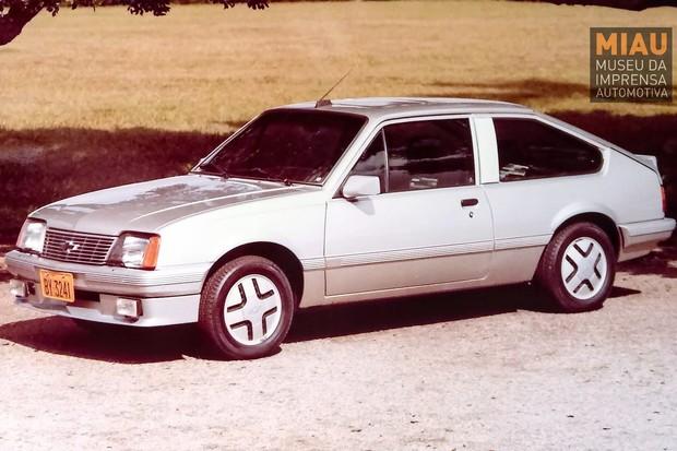 Monza Silver, de 1982, foi um dos protótipos que deram origem ao Monza S/R de 1986 (Foto: IGM/MIAU)