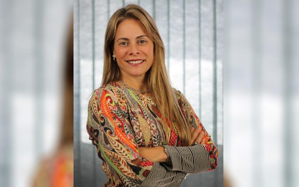 Cristiane Alkmin Junqueira Schmidt é a nova secretária da Fazenda de Goiás — Foto: Divulgação