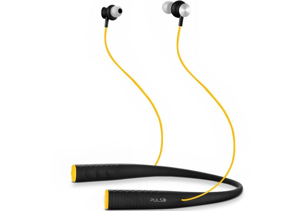 Pulse Rubber PH240 tem neckband com microfone e controles musicais (Foto: Divulgação/Pulse)