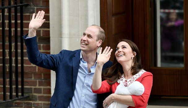 Kate Middleton e Príncipe Harry  (Foto: Getty Images )