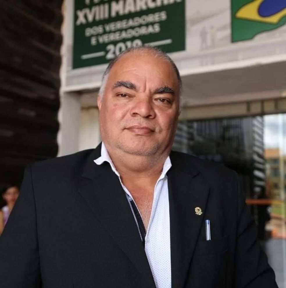 Vereador Wilson Caetano Coelho morre vítima da Covid-19 em RO — Foto: Reprodução/Facebook