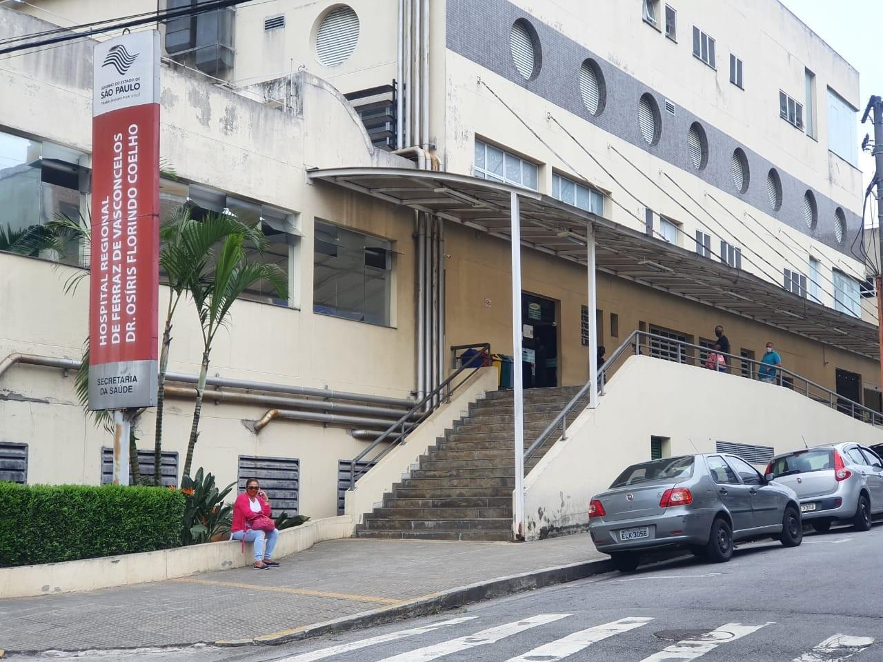 Regional de Ferraz de Vasconcelos fecha leitos para casos de Covid-19, nesta quarta-feira, diz governo