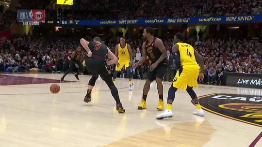 Melhores momentos: Cleveland Cavaliers 100 x 97 Indiana Pacers pelos playoffs da NBA