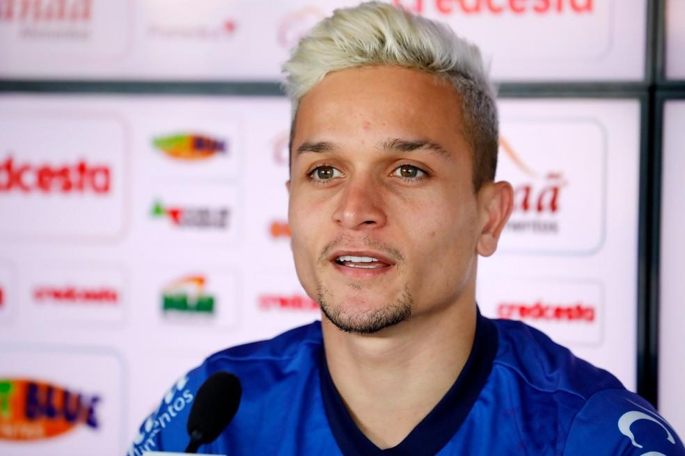 Em 2019, Artur se destacou com a camisa do Bahia — Foto: Felipe Oliveira/Divulgação/EC Bahia