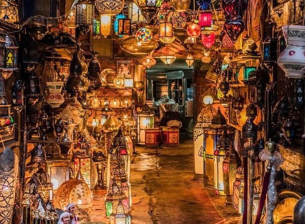 Mercado Khan Al Khalili (Foto: Reprodução/OsirisTour)