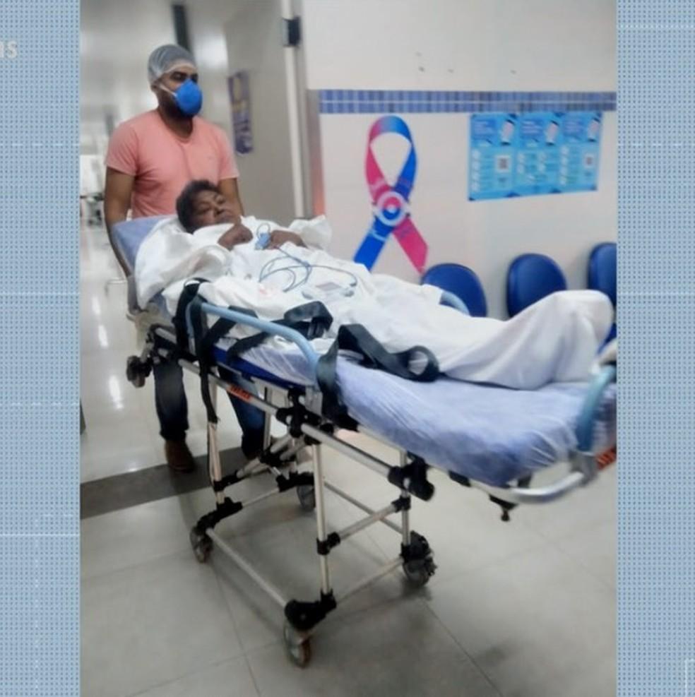 Paciente aguarda por cirurgia cardíaca há cerca de 20 dias — Foto: Divulgação