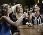 Luna (Juliana Schalch), Magali (Michelle Batista) e Karin (Rafaela Mandelli)  | Divulgação