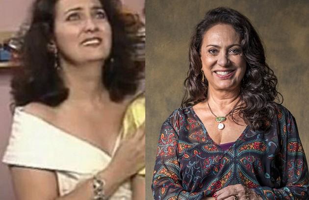 Eliane Giardini foi Isaura, dona de uma confecção de roupas. A atriz voltará ao ar na novela das 21h de João Emanuel Carneiro, em 2022 (Foto: Globo)