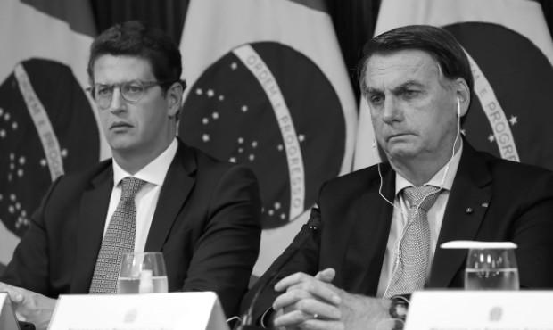 Bolsonaro e Salles