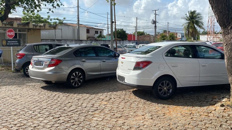 Polícia registra roubo de seis carros em duas horas durante a madrugada em Natal — Foto: Kléber Teixeira/Inter TV Cabugi