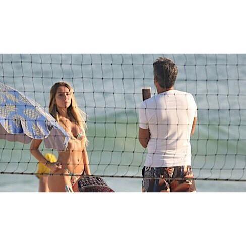 Carol Portaluppi e pai Renato Gaúcho (Foto: Reprodução / Instagram)