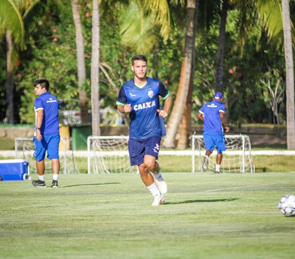 Lucca marcou três gols  — Foto: Morgana Oliveira, ASCOM CSA
