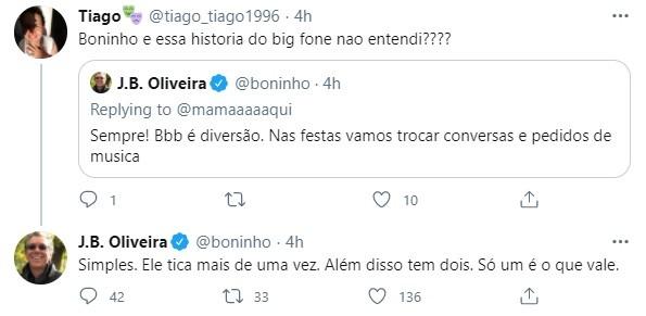 Boninho comenta sobre o Big Fone (Foto: Reprodução)