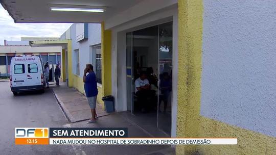 Pacientes reclamam da falta de atendimento no hospital de Sobradinho