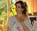Daniela Escobar em cena de 'Flor do Caribe' | Reprodução