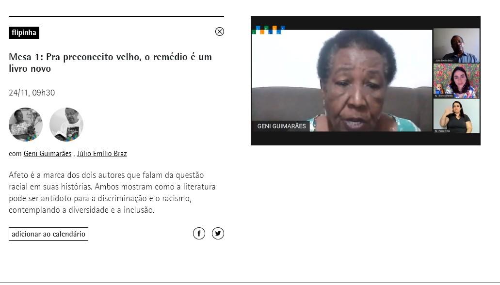 Por causa da pandemia, Flipinha 2020 ganha programação virtual