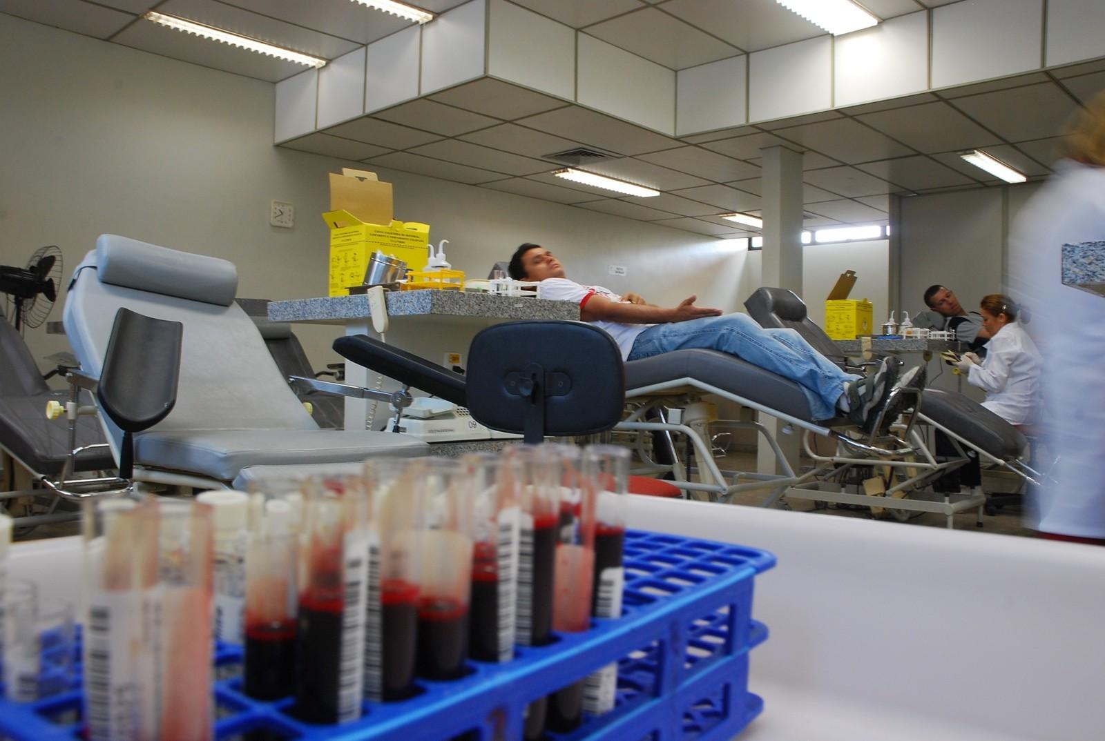Campanha de doação de sangue vai acontecer nesta quinta (17) no Hemocentro de João Pessoa