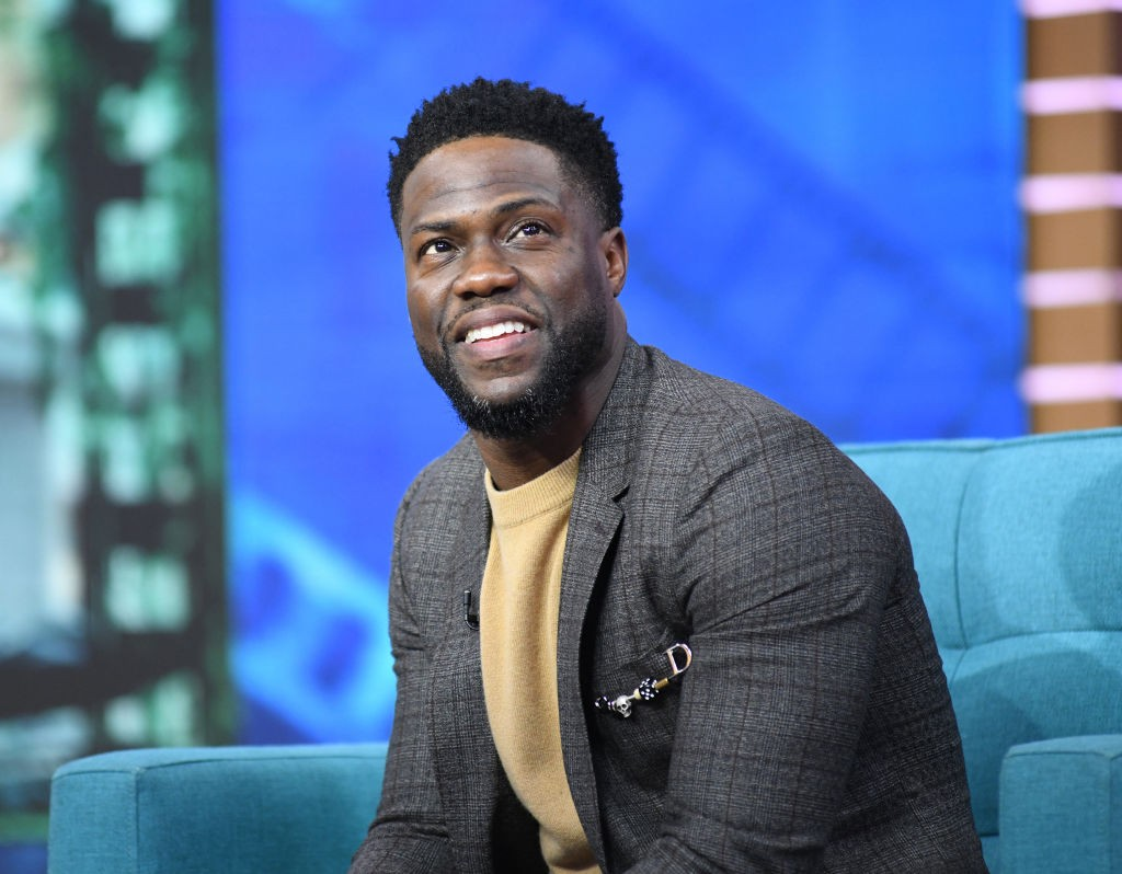 "GOOD MORNING AMERICA - Kevin Hart is a guest on ""Good Morning America,"" on Wednesday, January 9, 2019, airing on the Walt Disney Television via Getty Images. (Photo by Paula Lobo/Walt Disney Television via Getty Images)KEVIN HART (Foto: Walt Disney Television via Getty)"