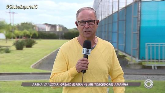 Grêmio x Palmeiras: Arena espera 46 mil torcedores em duelo pelas quartas de Libertadores